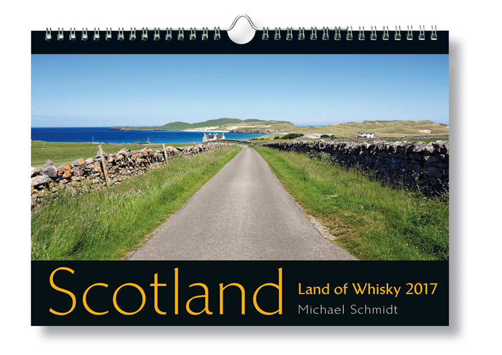 Scotland - Land of Whisky. Kalender 2017